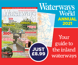 Waterways World Annual 2021 with map