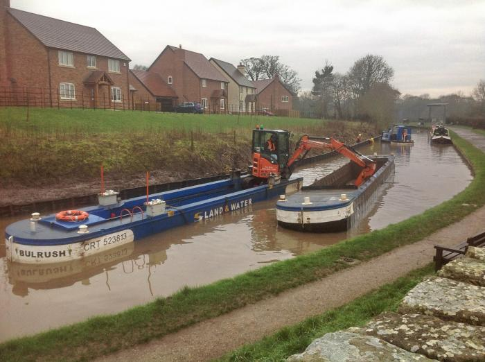 Dredging of the Whitchurch Arm of the Llangollen