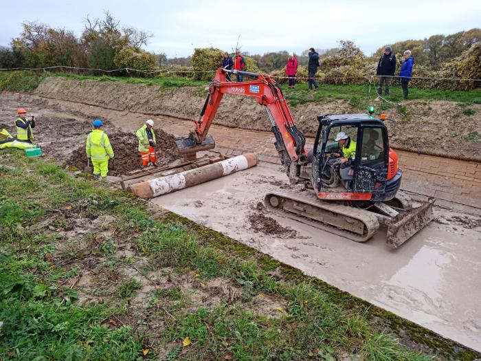 Wendover Arm working party